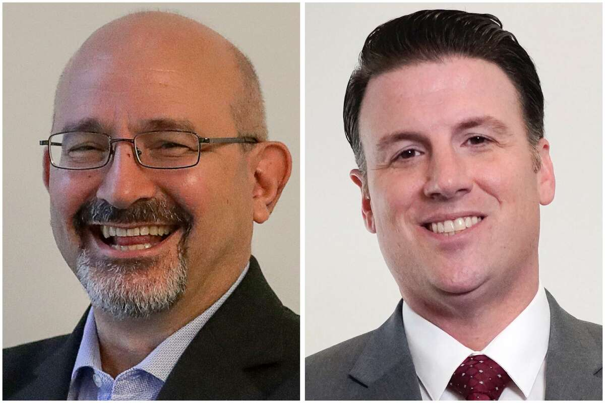 State Rep. Jon Rosenthal (left), D-Cypress, is the representative for Texas House District 135 - a position for which former Jersey Village mayor Justin Ray (right) has announced his candidacy.