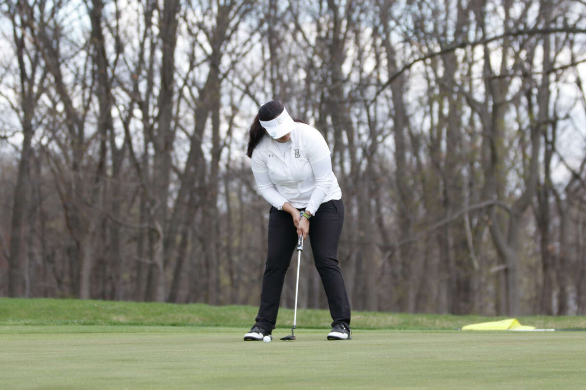 Siena College golfer Isabella Diaz was named to both the MAAC All-Academic Team and the MAAC Academic Honor Roll this season. (Lexi Woodcock / Siena College)