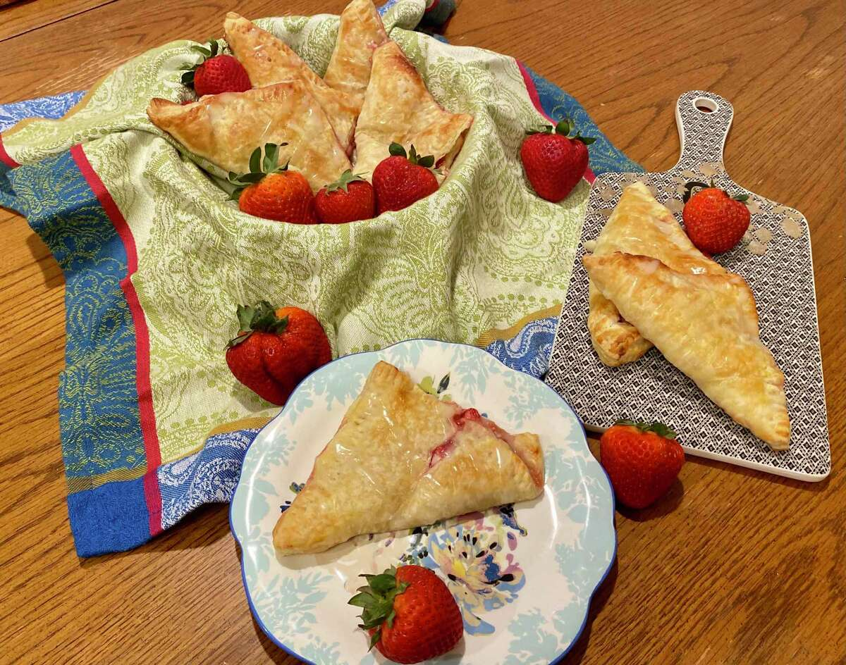 Whip up a batch of strawberry cream turnovers without breaking a sweat.