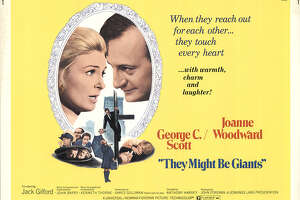 """It might not have lyrics as literary as """"Blue canary in the outlet by the light switch, who watches over you?"""" or """"Wake up and smell the cat food in your bank account,"""" but the 1971 film """"They Might Be Giants"""" was inspired by """"Don Quixote"""" and features a character who believes he's Sherlock Holmes."""