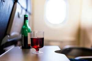 In-flight beverage service