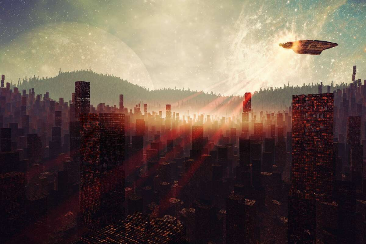 Could the lights from an alien city lead to the discovery of other life forms?