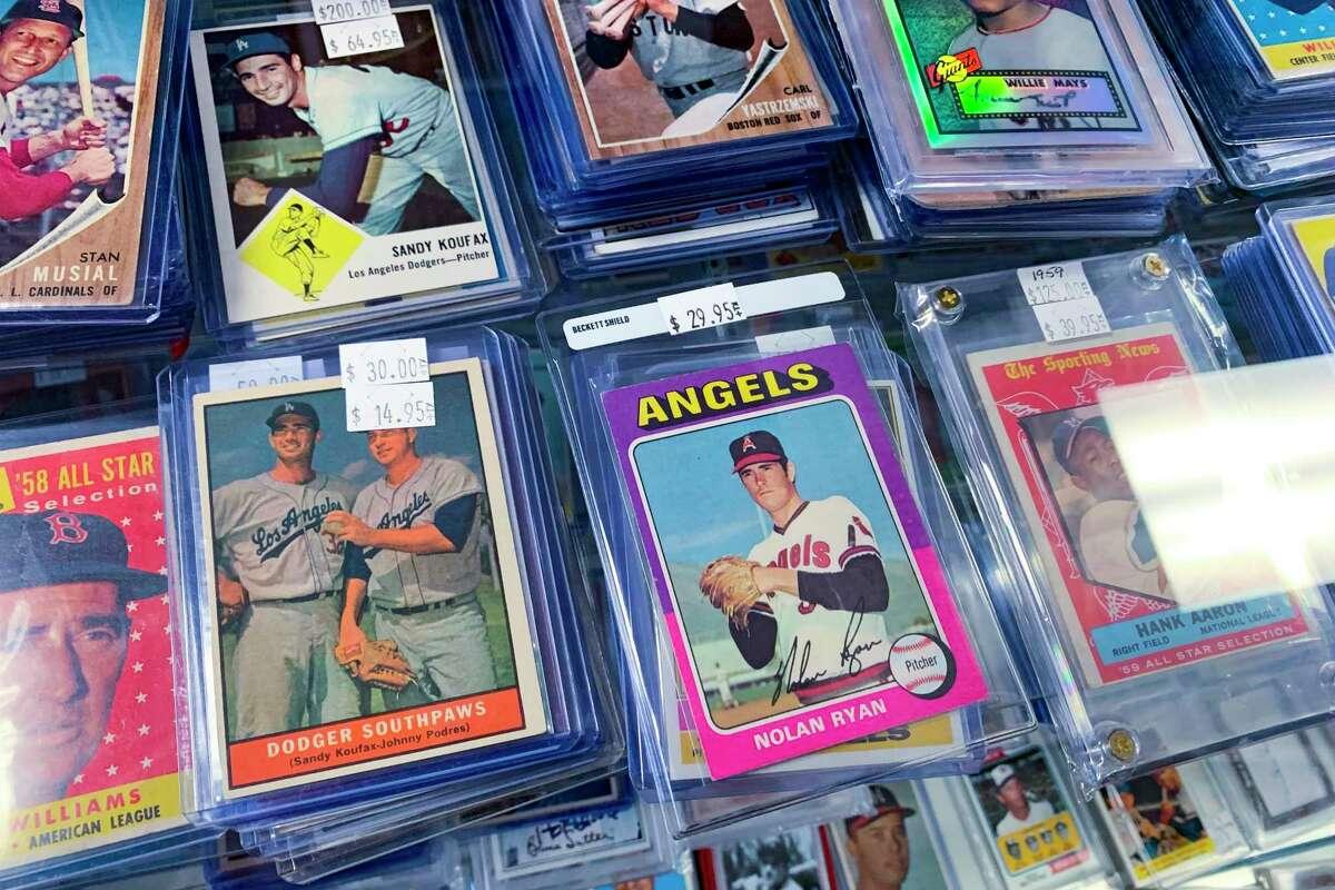 San Antonio shop rides wave of new interest in sports memorabilia