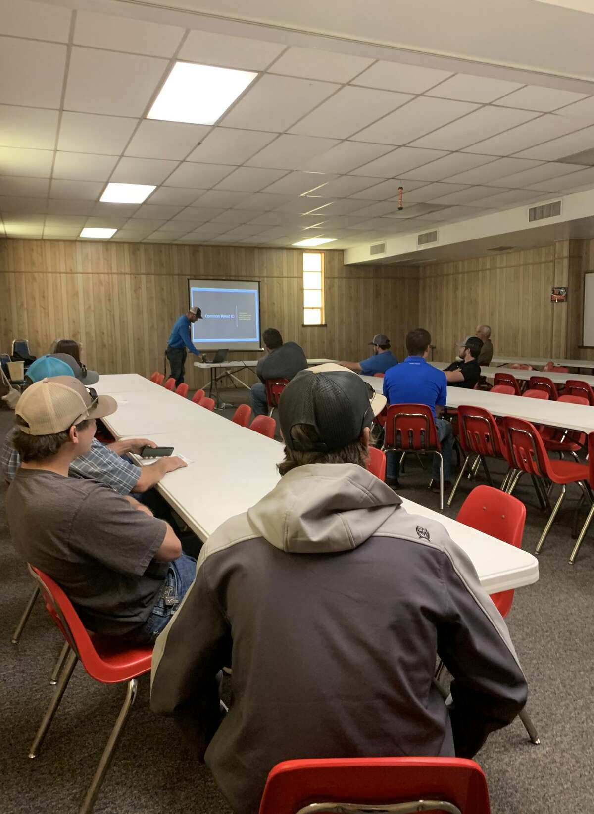 The Texas A&M AgriLife Extension Service hosted its annual Field Scout School on Friday at the Ollie Liner Center.