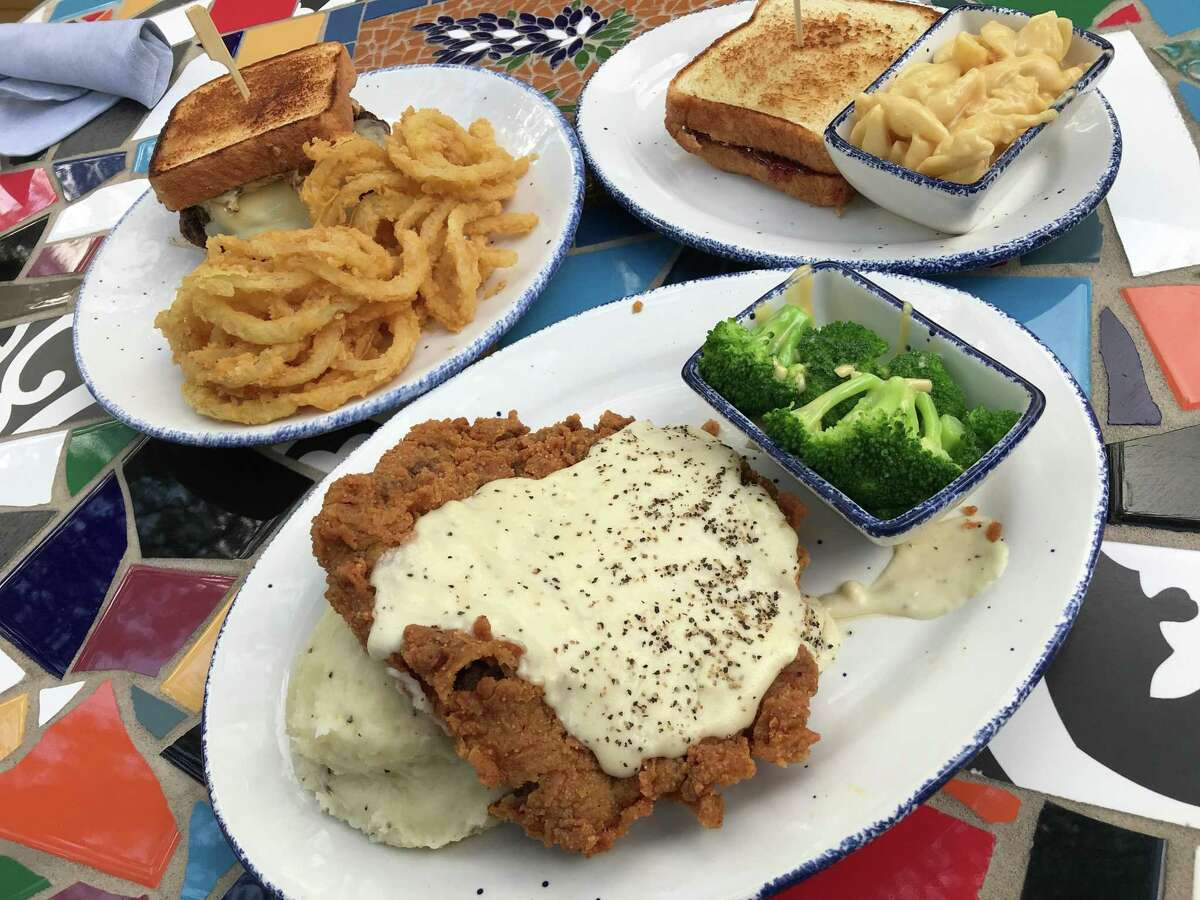 The chicken-fried steak at Mama's Cafe