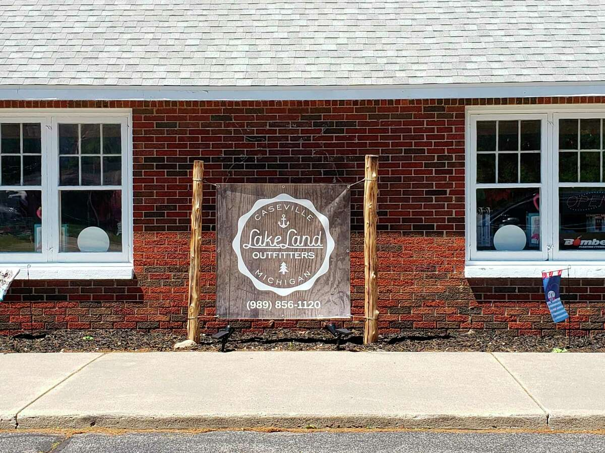 Lakeland Outfitters in Caseville. (Robert Creenan/Huron Daily Tribune)
