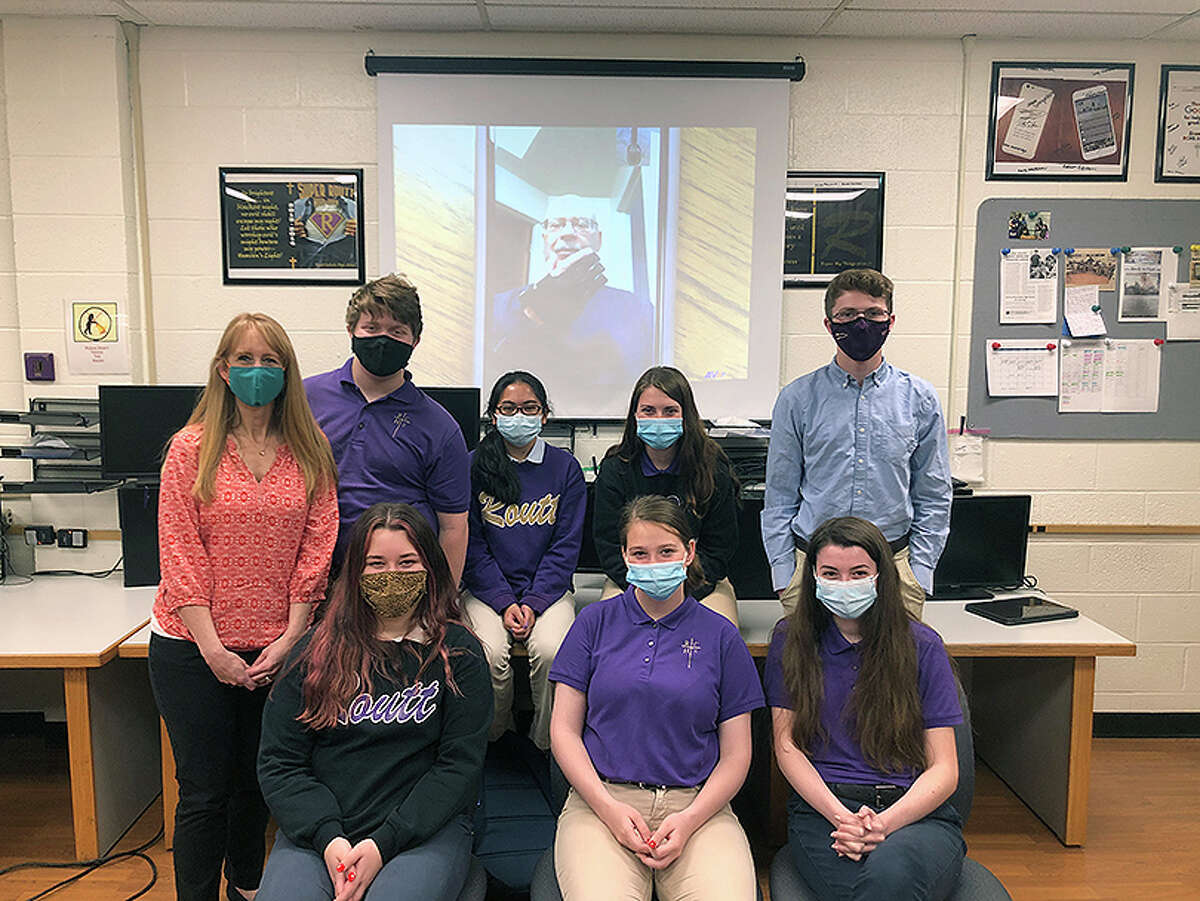 After Routt Catholic High School bought 3D printers, students designed and created a prosthetic hand in the spare time they had during class.The hand went to Mark Landon of Missouri, who was not able to afford a prosthetic from traditional manufacturers.