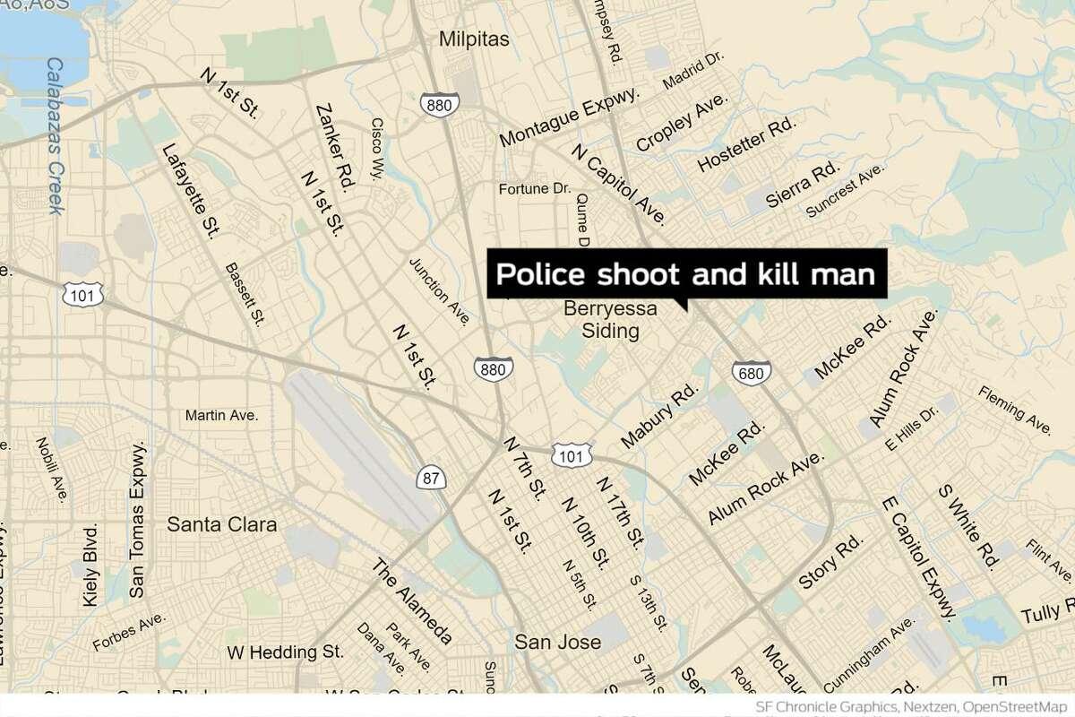 San Jose police shot and killed a man they said