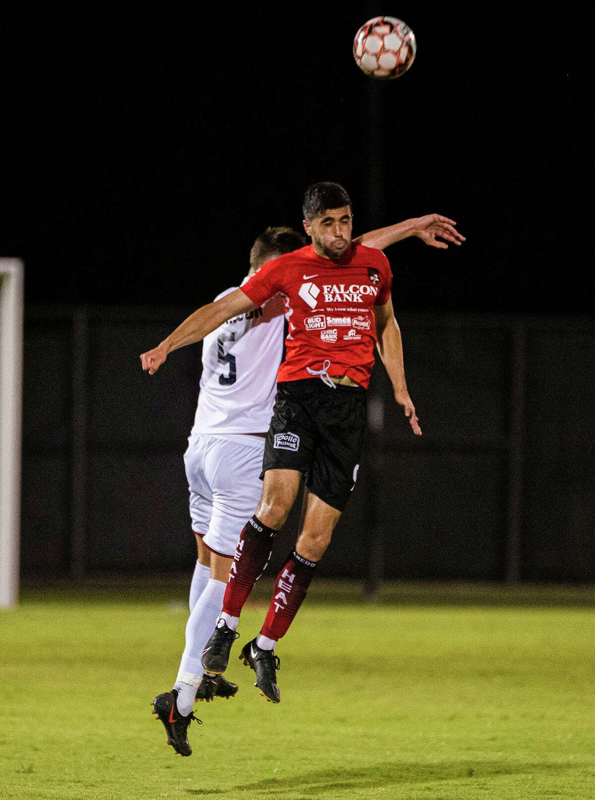 Nadav Datner scored the lone goal for the Laredo Heat on Friday in a 2-1 loss to Irving FC at the TAMIU Soccer Complex.