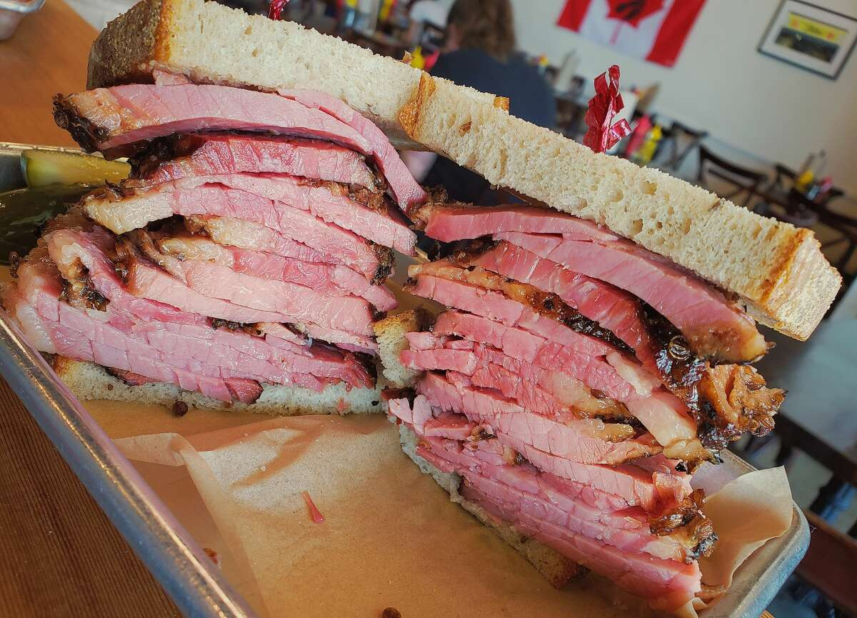 Augie's Montreal Deli in Berkeley, known for its pastrami sandwiches, is hibernating for the summer.