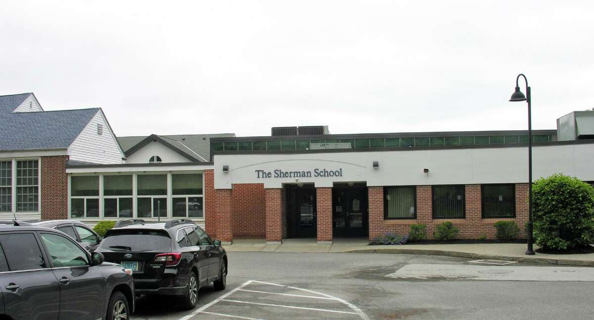 The Sherman School, the only school in the town's school district, at 2 Route 37 in Sherman, Conn.