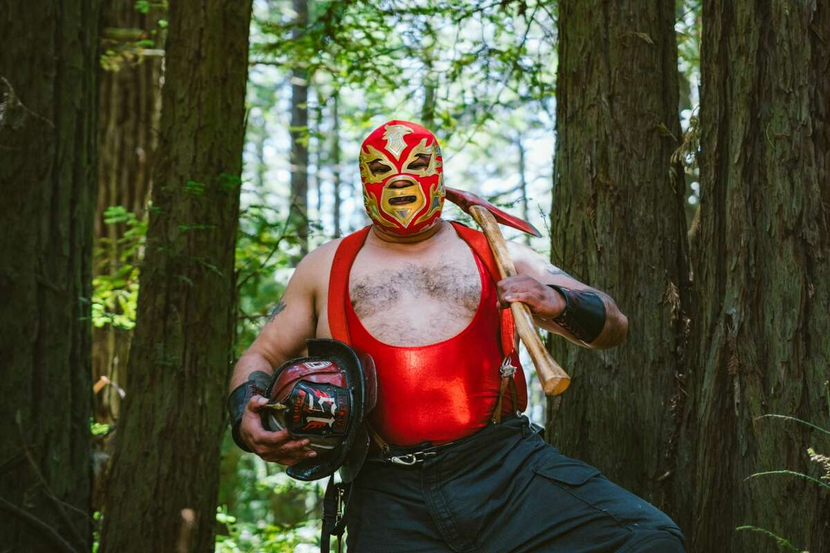 Ramon Barreto has worked as a firefighter for 32 years. For almost as long, he's also wrestled professionally as Chicano Flame.