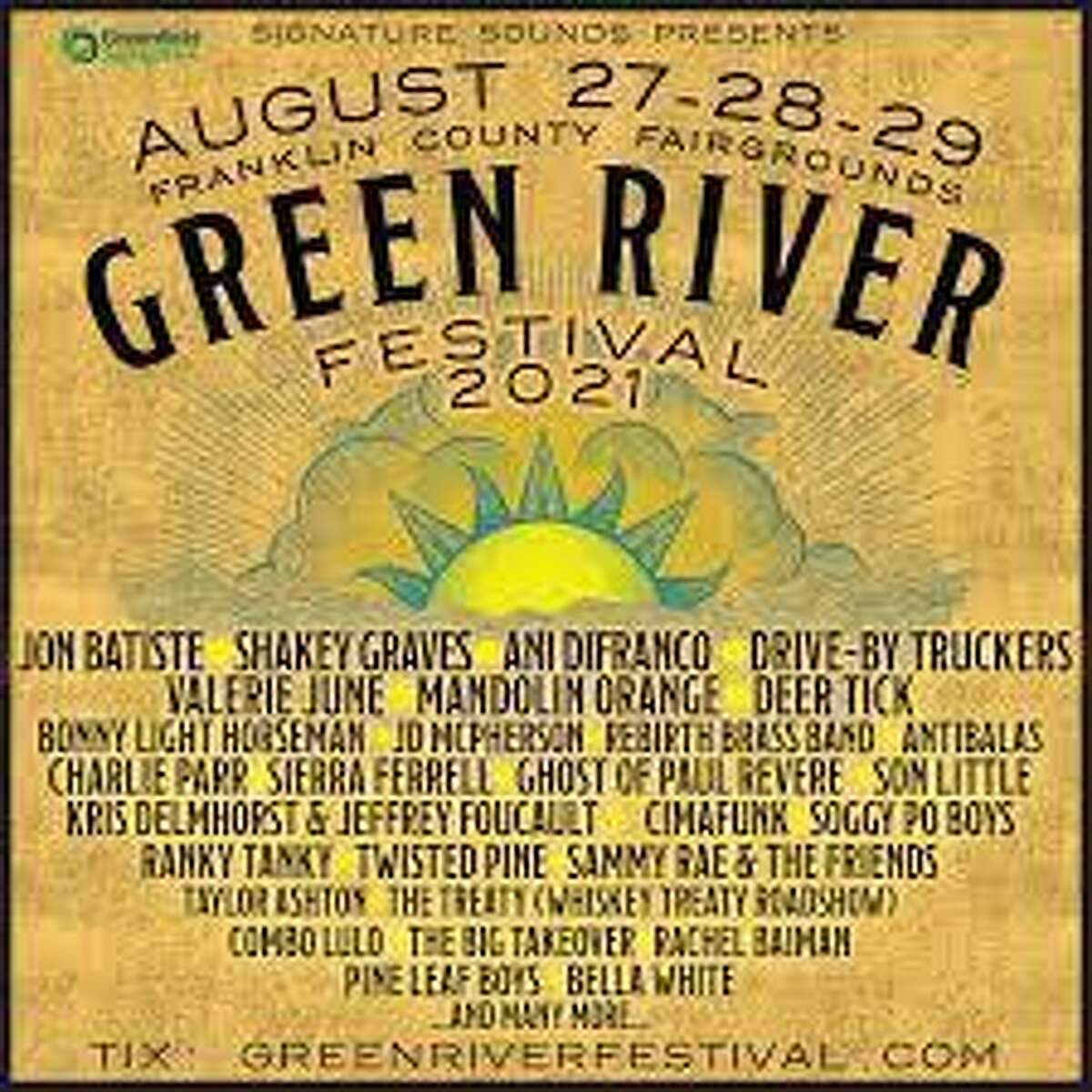 The Green River Festival is Western Massachusetts' signature summer event.