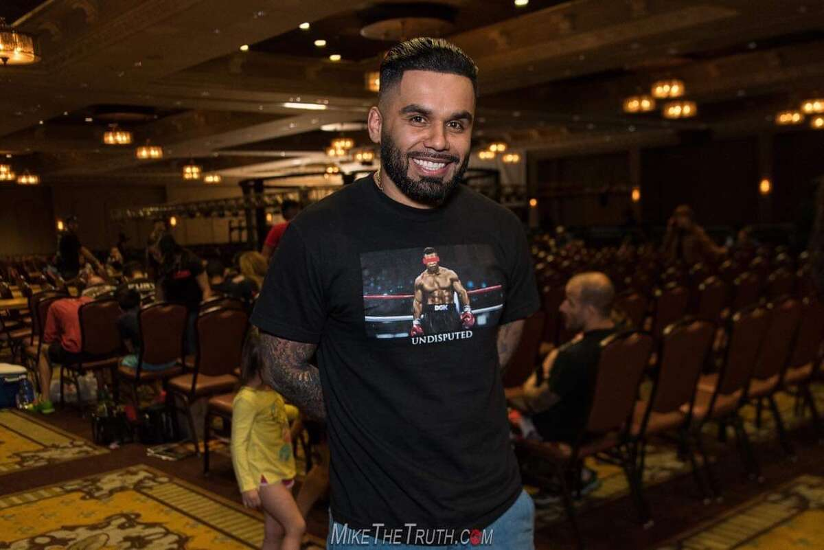 Eric Garcia is a professional fight promoter in Houston.
