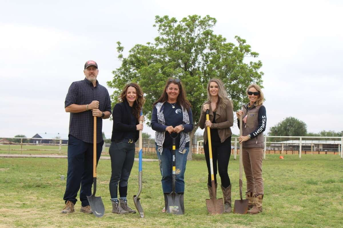 PHOTO L-R: Starlight Board Vice President, Greg Welborn; Founder/Board President, Chim Welborn; Facility Director/Instructor, Ginger Cage; Board Secretary, Shannon Key; and Equine Director/Instructor, Shelley Duffin