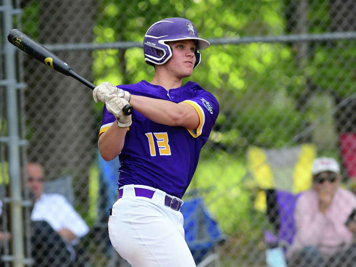 Troy's Mike Kennedy was a pitching standout, but also hit .547 with 23 RBIs to earn Athlete of the Year honors.