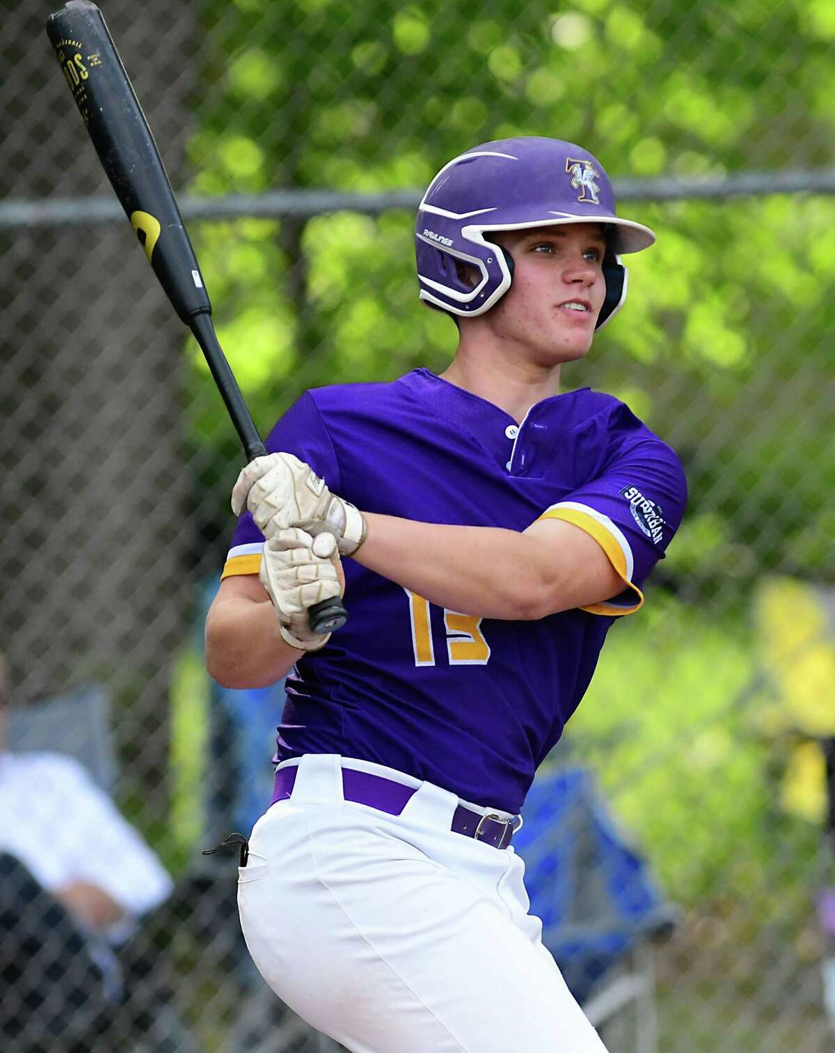 Troy's Mike Kennedy hit .547 this season, with two home runs and 23 RBIs.