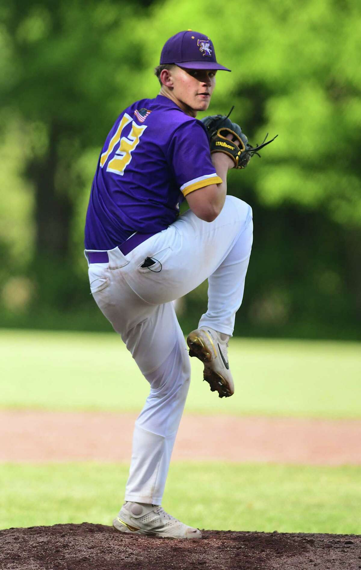 Troy pitcher Mike Kennedy, shown during a no-hitter against Averill Park, went 7-0 with a 0.32 ERA and 89 strikeouts in 44 innings in 2021.