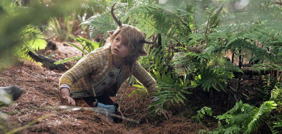 'Sweet Tooth' stars Christian Convery as deer-boy Gus.