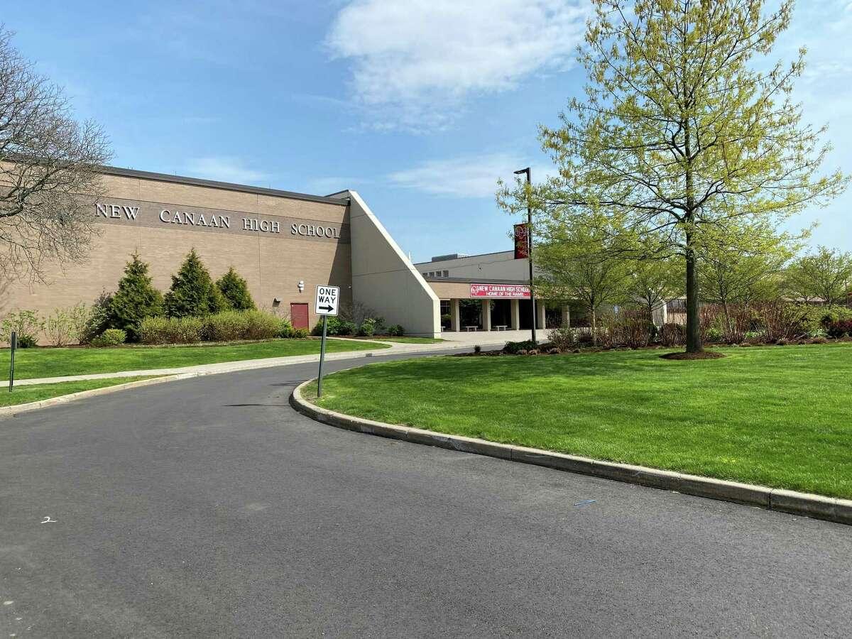 New Canaan High School April 2021.