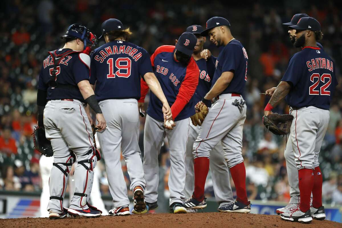 Boston Red Sox manager Alex Cora could be back at Minute Maid for the ALCS.