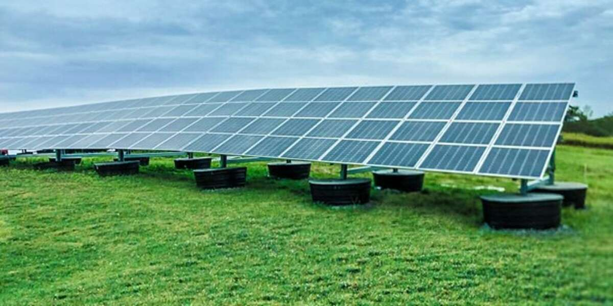 Five acres of otherwise unusable land has been turned into a moneymaker for East Haven in the form of a solar array.
