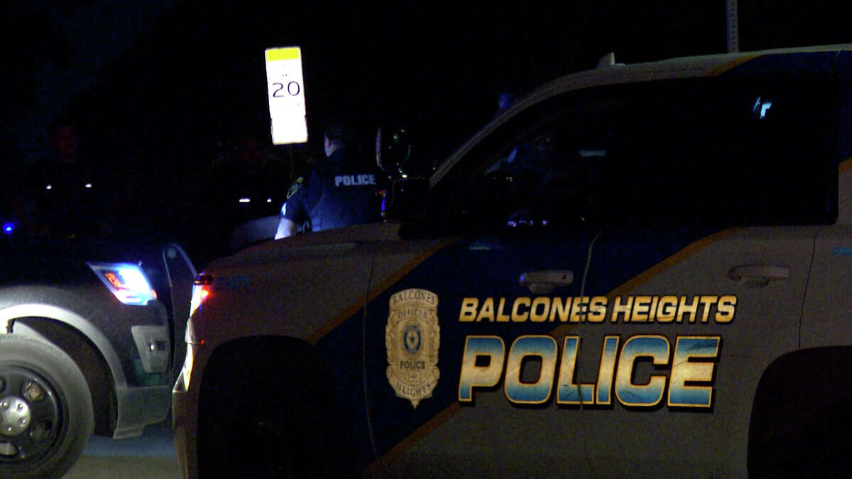 This file photo shows an image of a Balcones Heights Police Department vehicle. In 2020, the police department pulled over 5,728 motorists for traffic violations. It's 26 officers averaged 220 traffic stops each last year, the highest average in the San Antonio area.