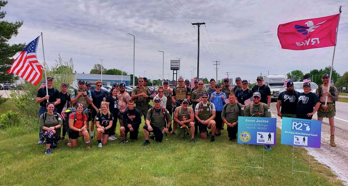 Pictured is the Frankenmuth ruck group. (Photo provided/Abby Scherzer)
