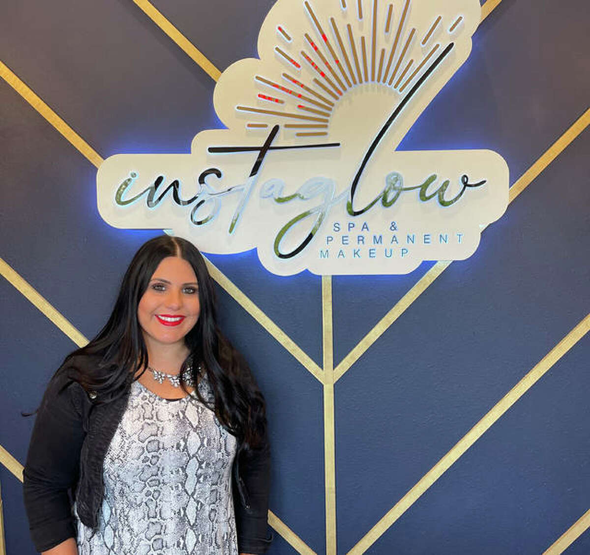 Lauren Strickland moves from Meraki Studios to her own skincare spa Instaglow Spa & Permanent Makeup on S. State Route 157 in Edwardsville.
