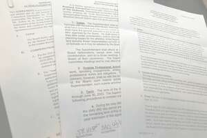 Some recent school superintendent contracts received under public records requests.
