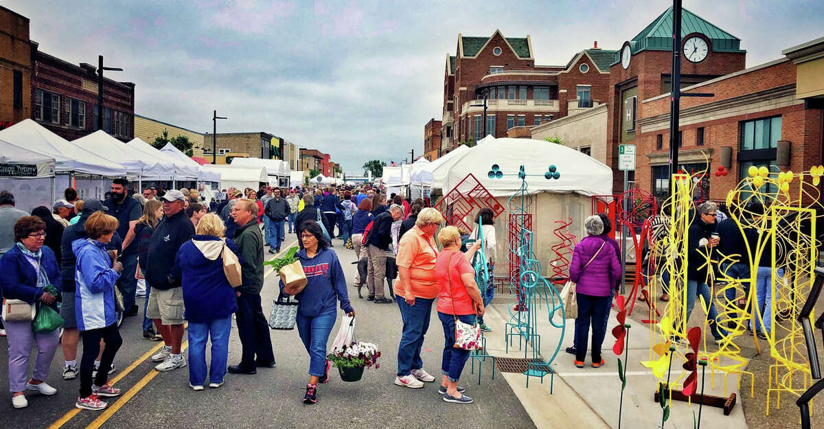 The last in-person Summer Art Fair was held in 2019 in Downtown Midland.