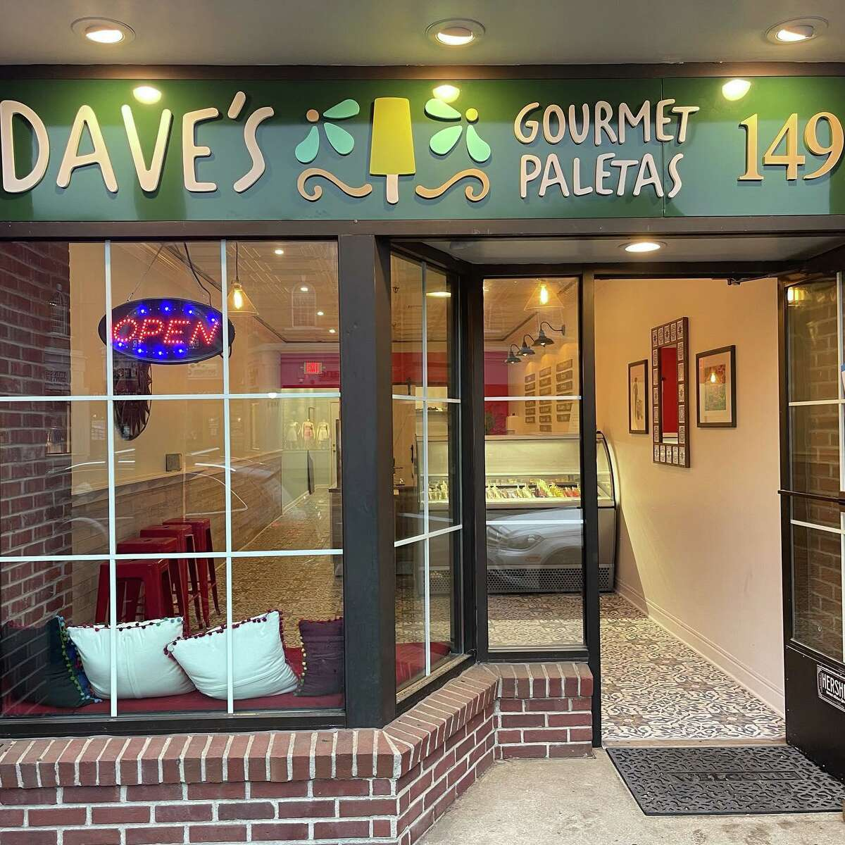 Dave's Gourmet Paletas is at 1492 Post Road in Fairfield.