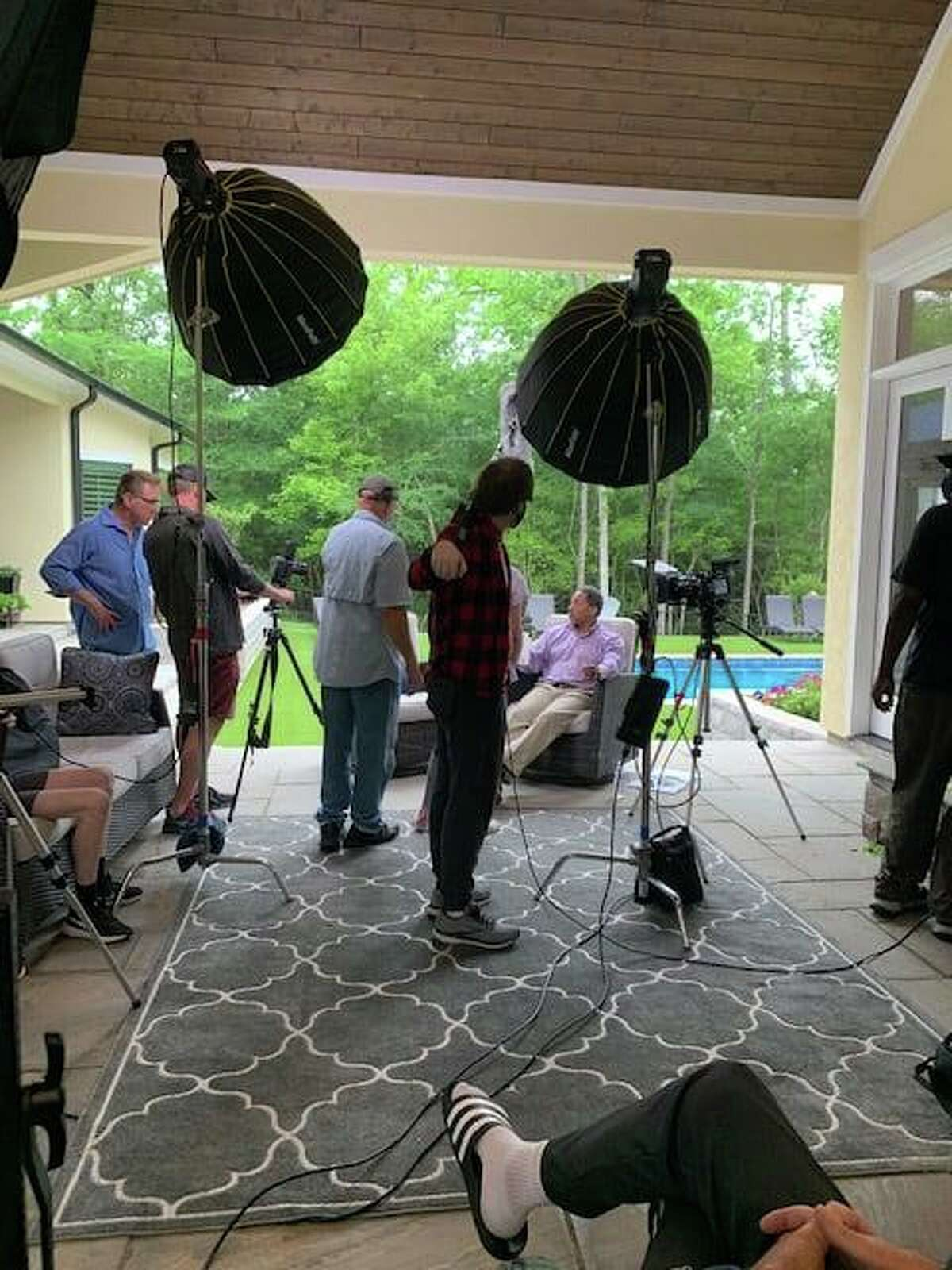 Walker Cable Productions recently finished filming