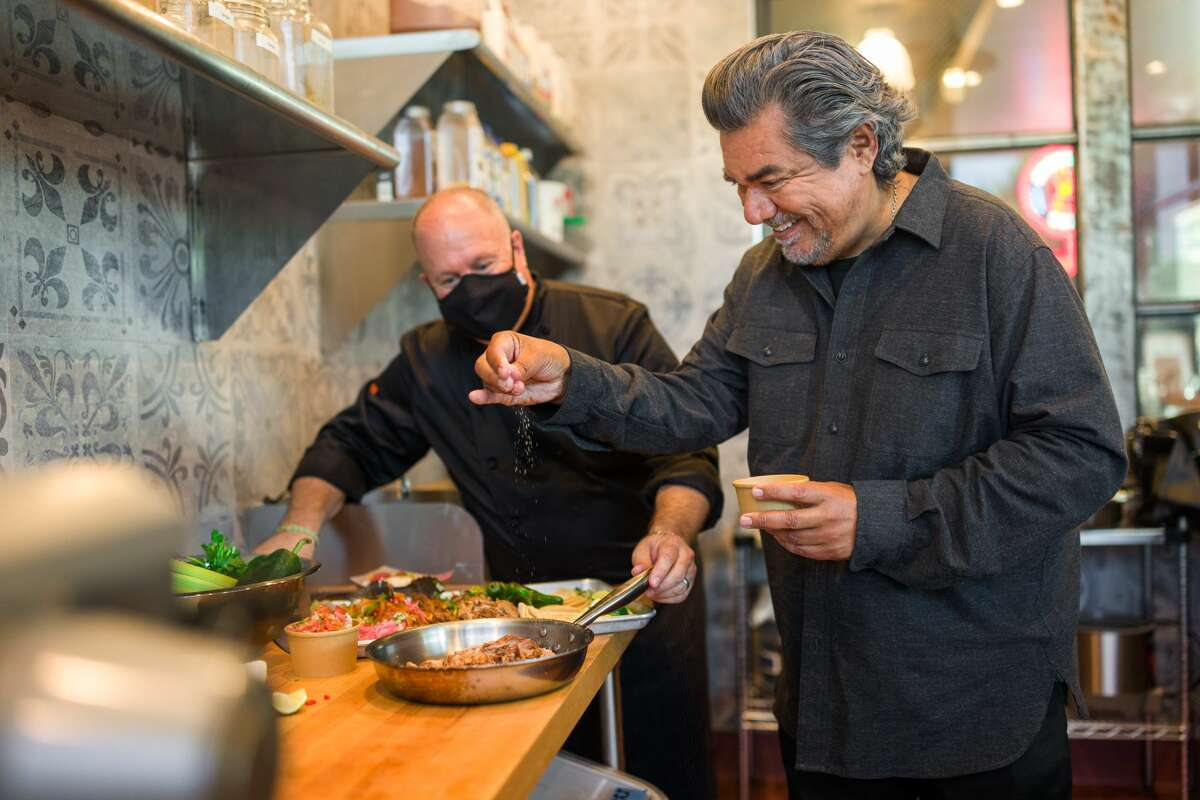 George Lopez launches new taco delivery service in Seattle.