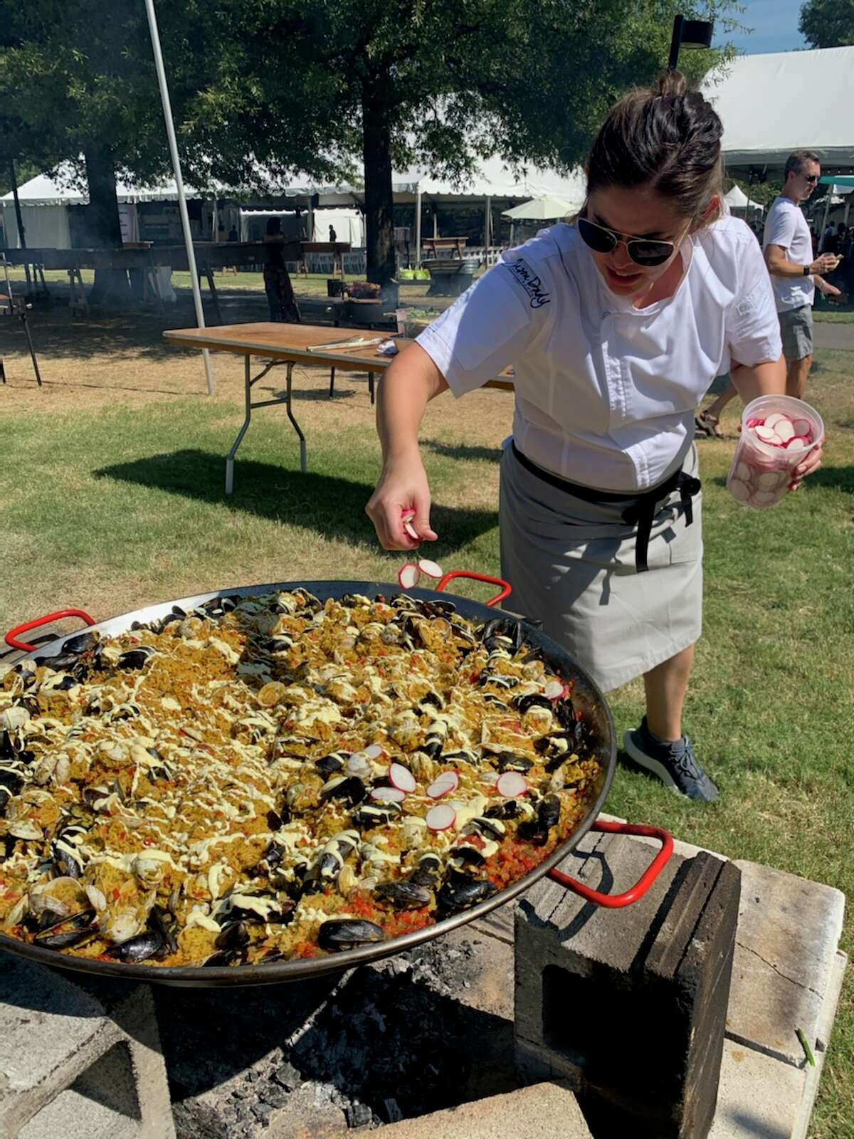 Chef Margeaux Alcorta, the director of culinary operations for the Jason Dady Restaurant Group, competed on
