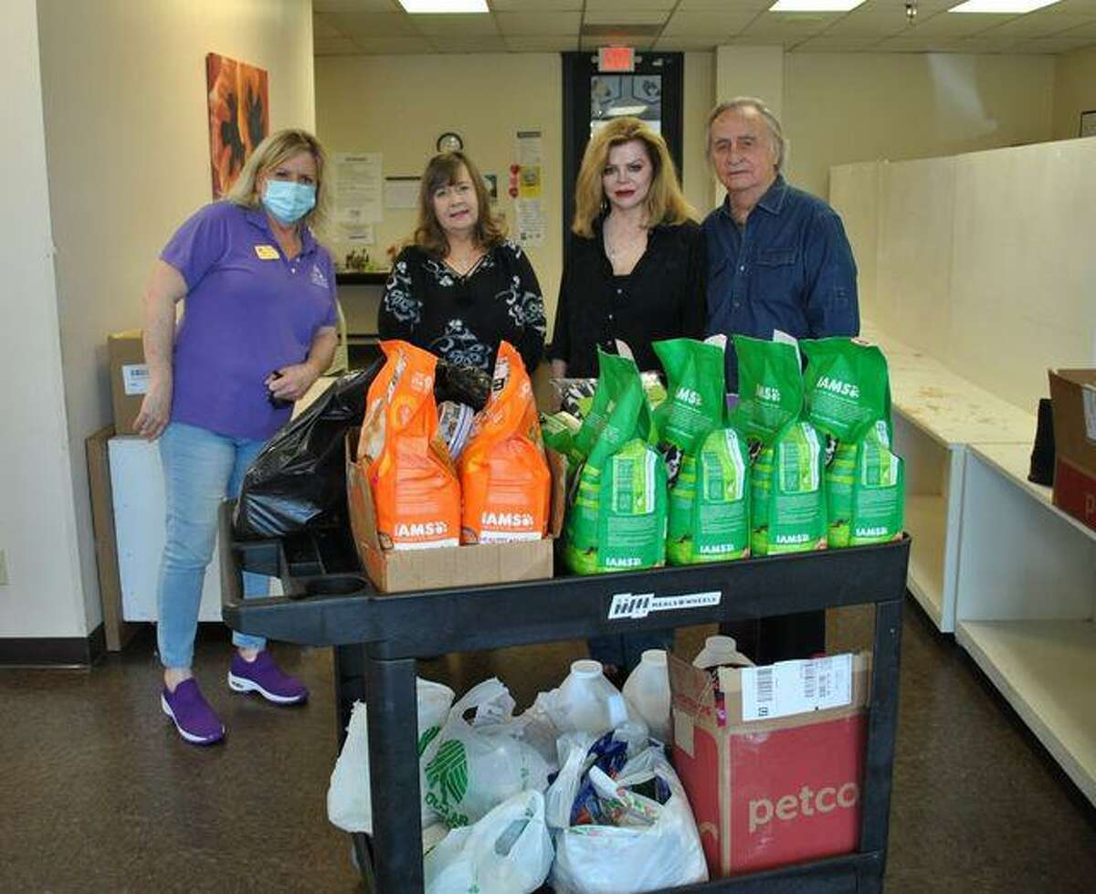 Northwest Assistance Ministries received a donation of pet food from Duke Critter Care.