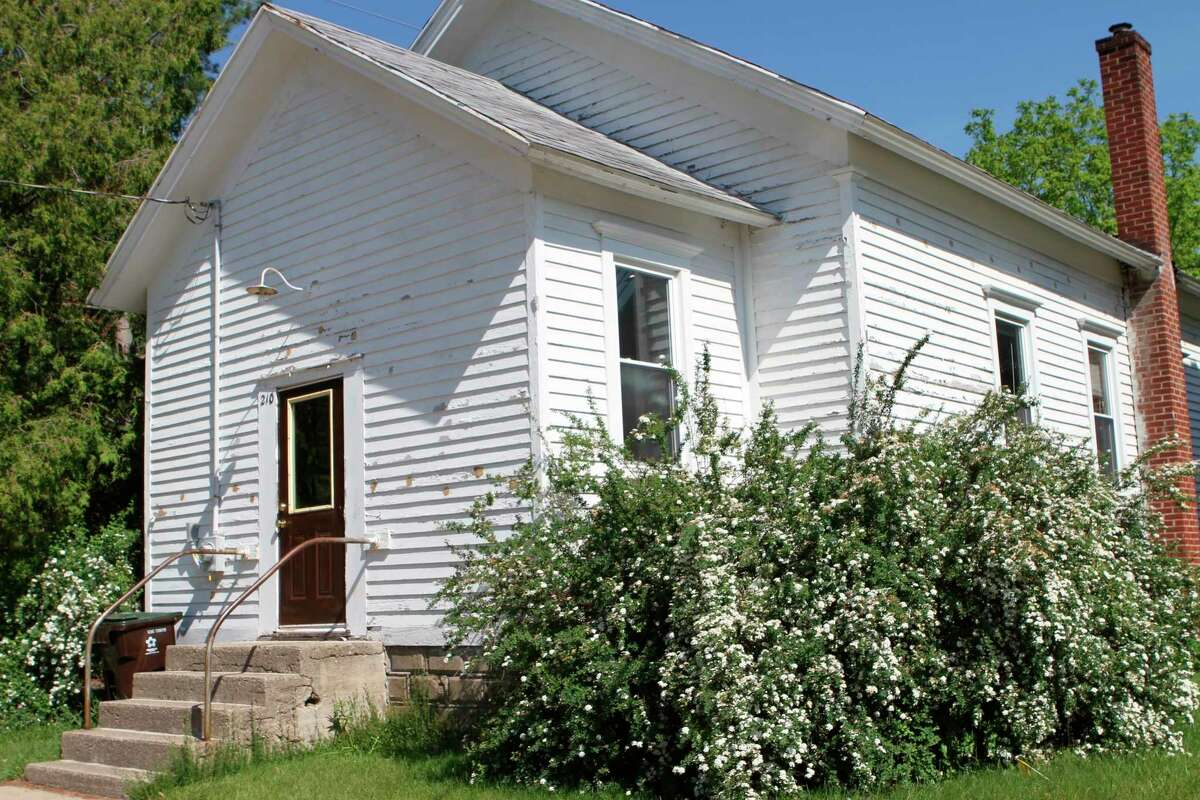Plans to renovate the old church building of the Big Rapids Free Methodist congregation have begun with hopes ofreinvigorating the building as a more usable space for churchgoers. (Pioneer photo/Olivia Fellows)