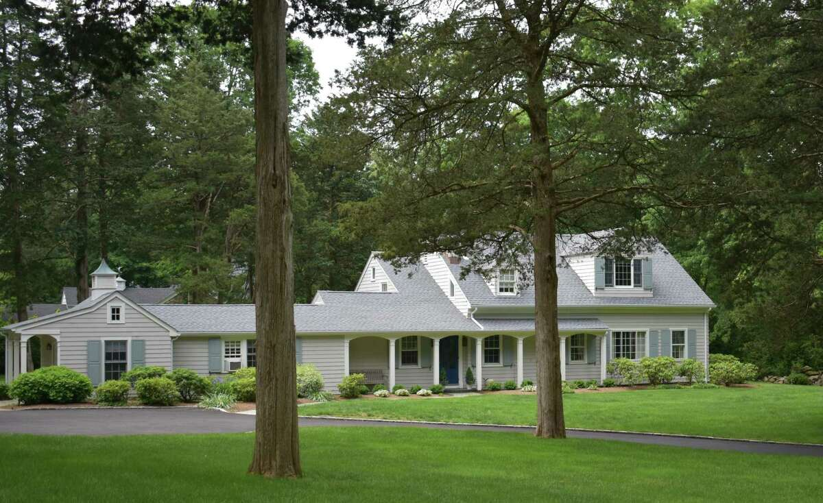 A Cottontail Road home in Greenwich, Conn., listed for sale in Jun 2021 for nearly $1.9 million.