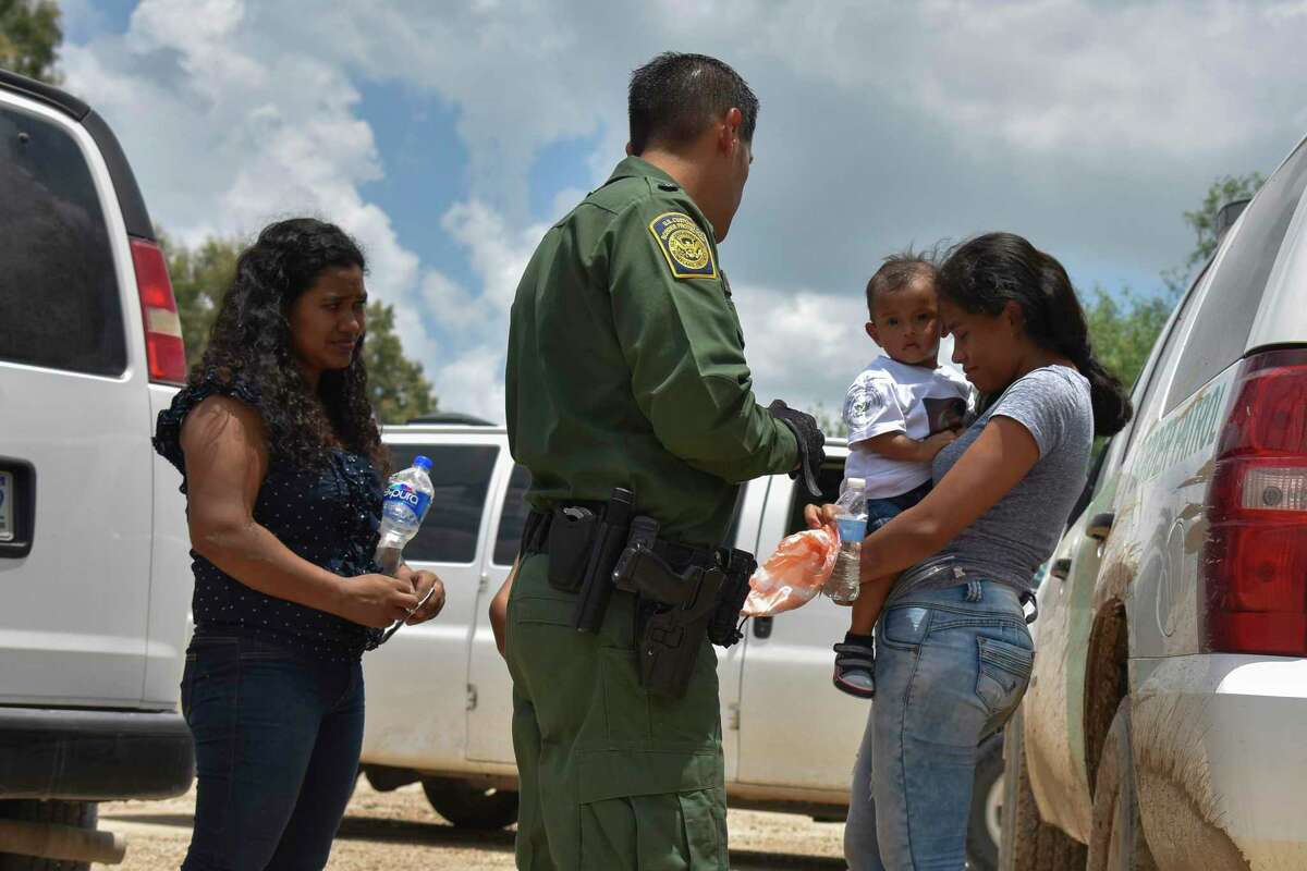 Democrats are putting their re-election prospects ahead of the welfare of refugees and immigrants, such as these mothers from Honduras and their children, who were detained by Border Patrol after they rafted across the Rio Grande in June.