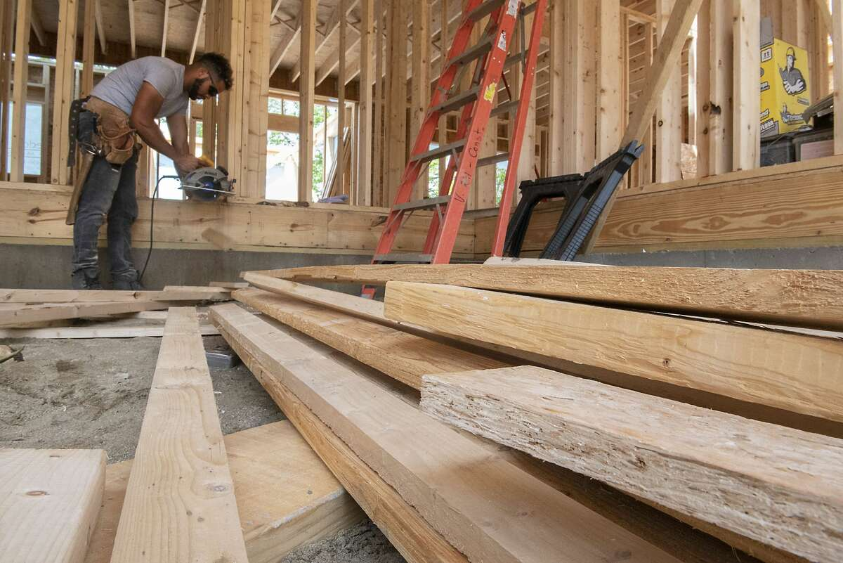 Lumber prices are falling after being up by more than 350 percent over the past year, but prices are still not as low as they were pre-COVID.