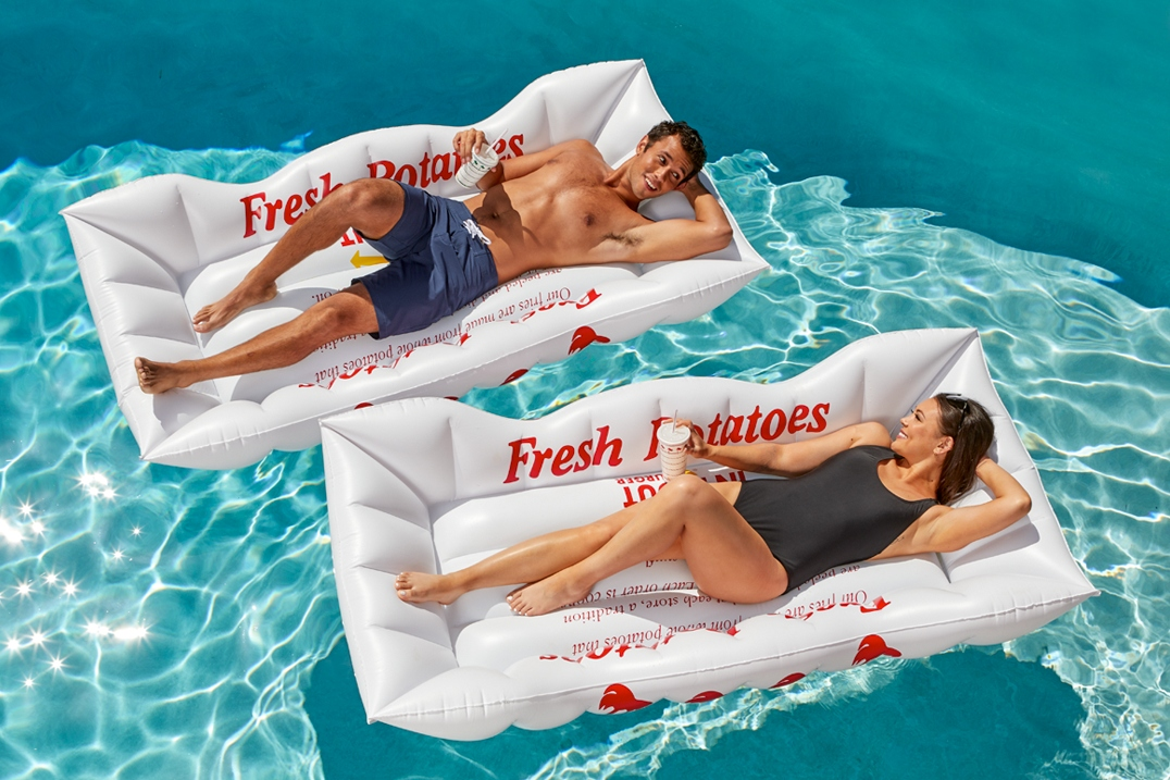 I'm calling it: 2021 is an In-N-Out fry boat pool float summer thumbnail