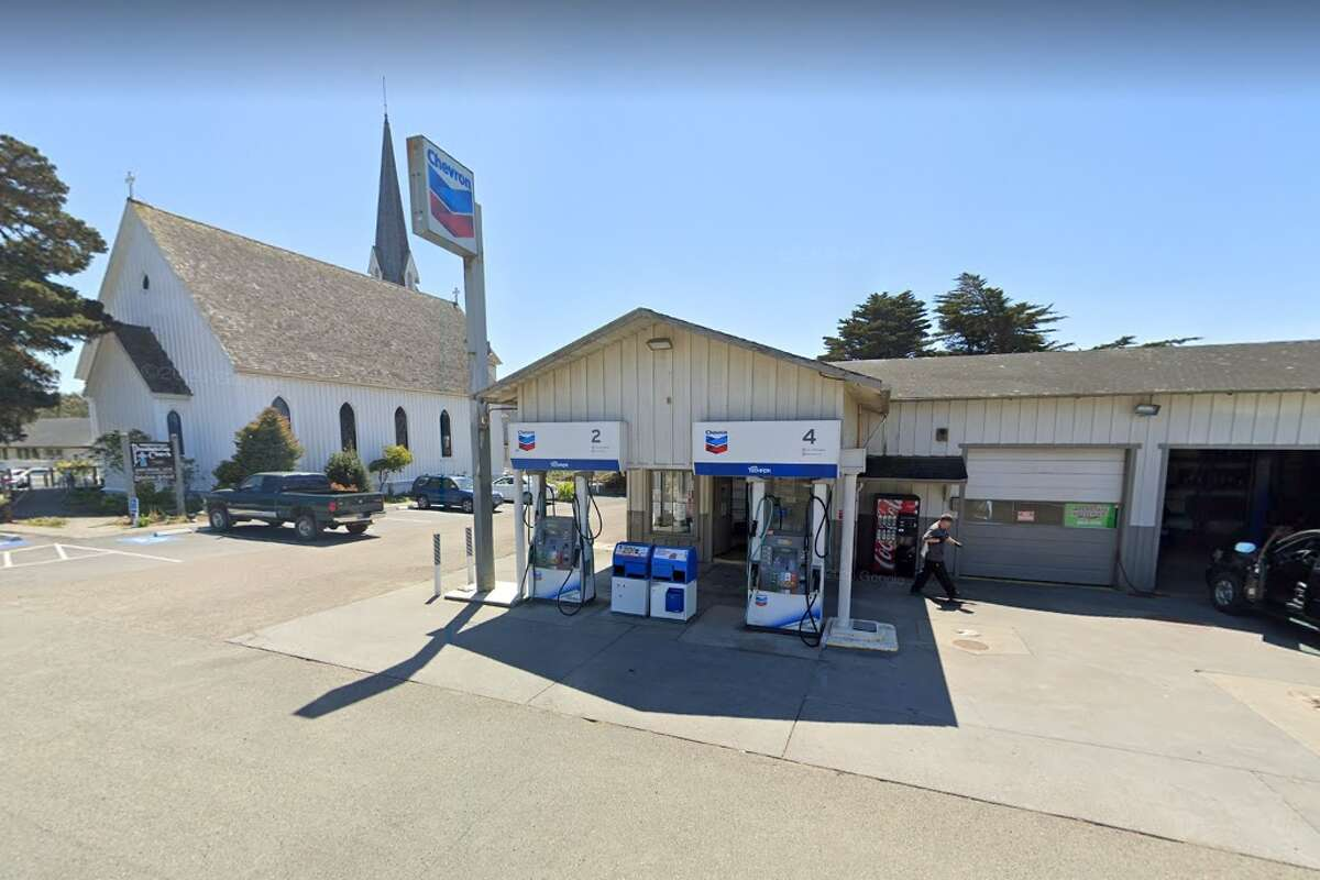 Schlafer's Auto Body & Repair in Mendocino, California has the most expensive gas in the country, according to GasBuddy.