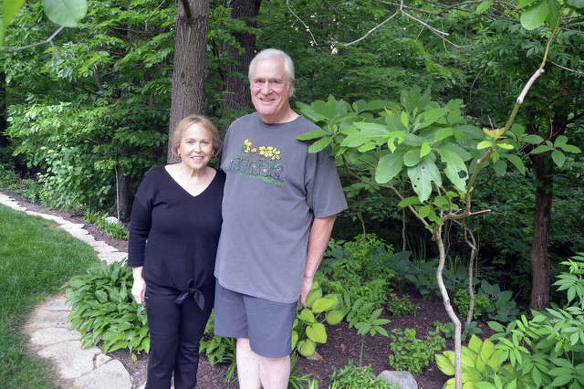 Judi and John Jennetten, of Edwardsville, will display their backyard garden as part of the Madison County Garden Tour June 11-12.