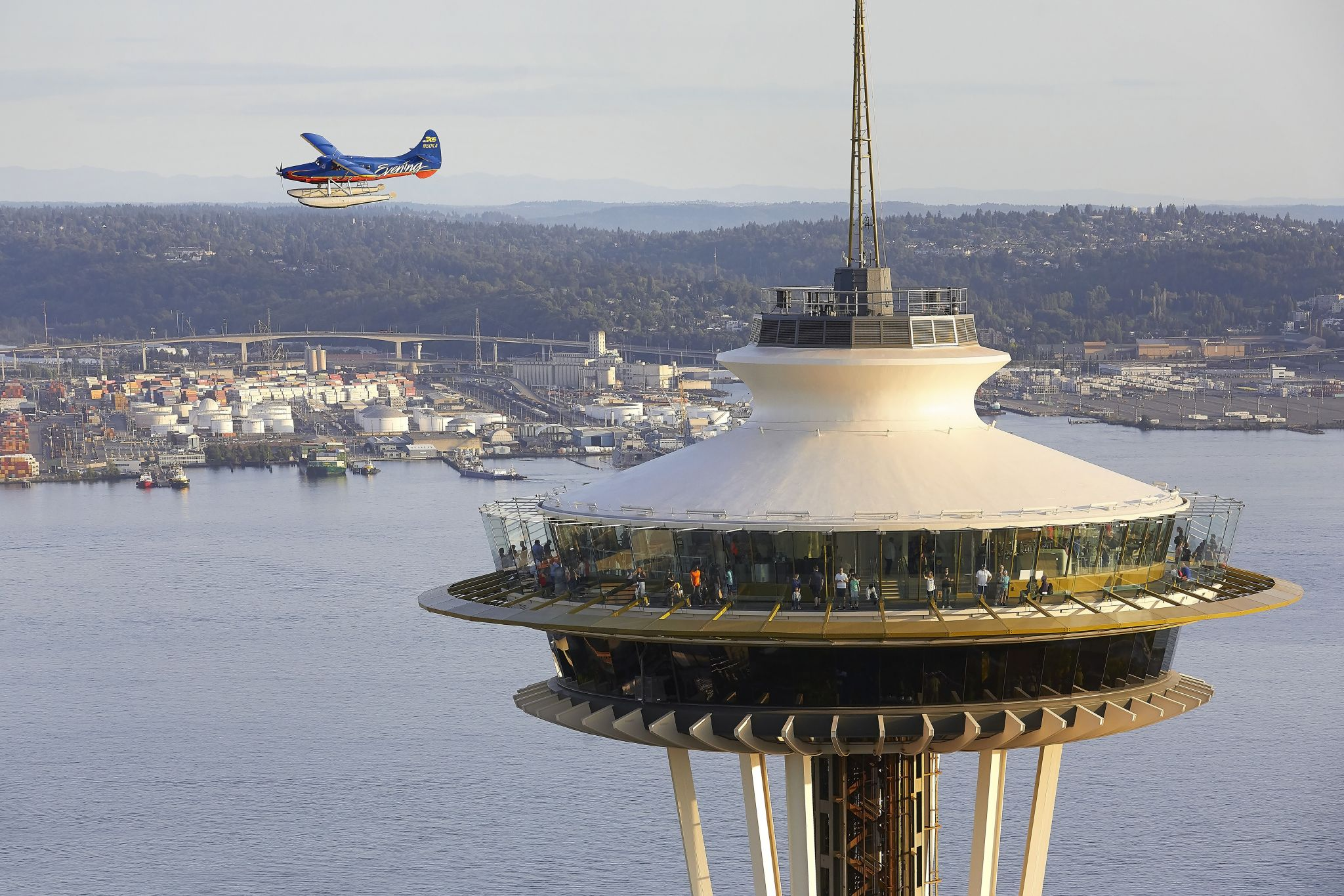Seattle's cost of living is 56.8% higher than national average