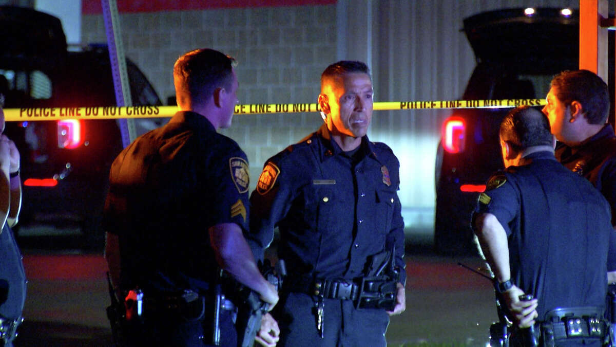 Three San Antonio police officers shot and killed a man who was allegedly threatening them with a knife near the 2400 block of Castroville Road.