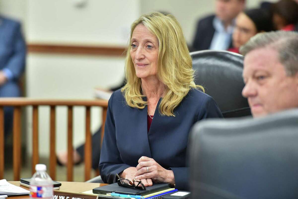 Carolyn Shellman is stepping down as CPS Energy's chief legal and administrative officer. Her last day at the city-owned utility will be Wednesday, June 16, 2021.
