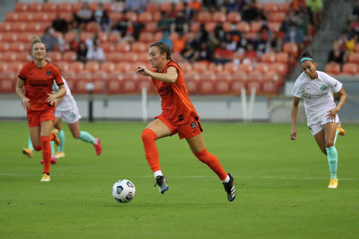 Gabby Seiler's free kick in the 62nd minute was the difference for the Dash on Saturday night.