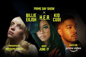 Amazon's Prime Day Show  featuring Billie Eilish, H.E.R. and Kid Cudi launches June 17.