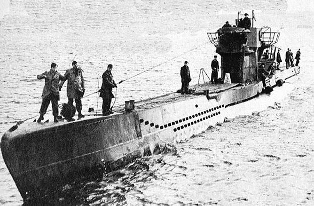 U-1206 was the pride of Nazi Germany's navy when it went into service in March 1944.