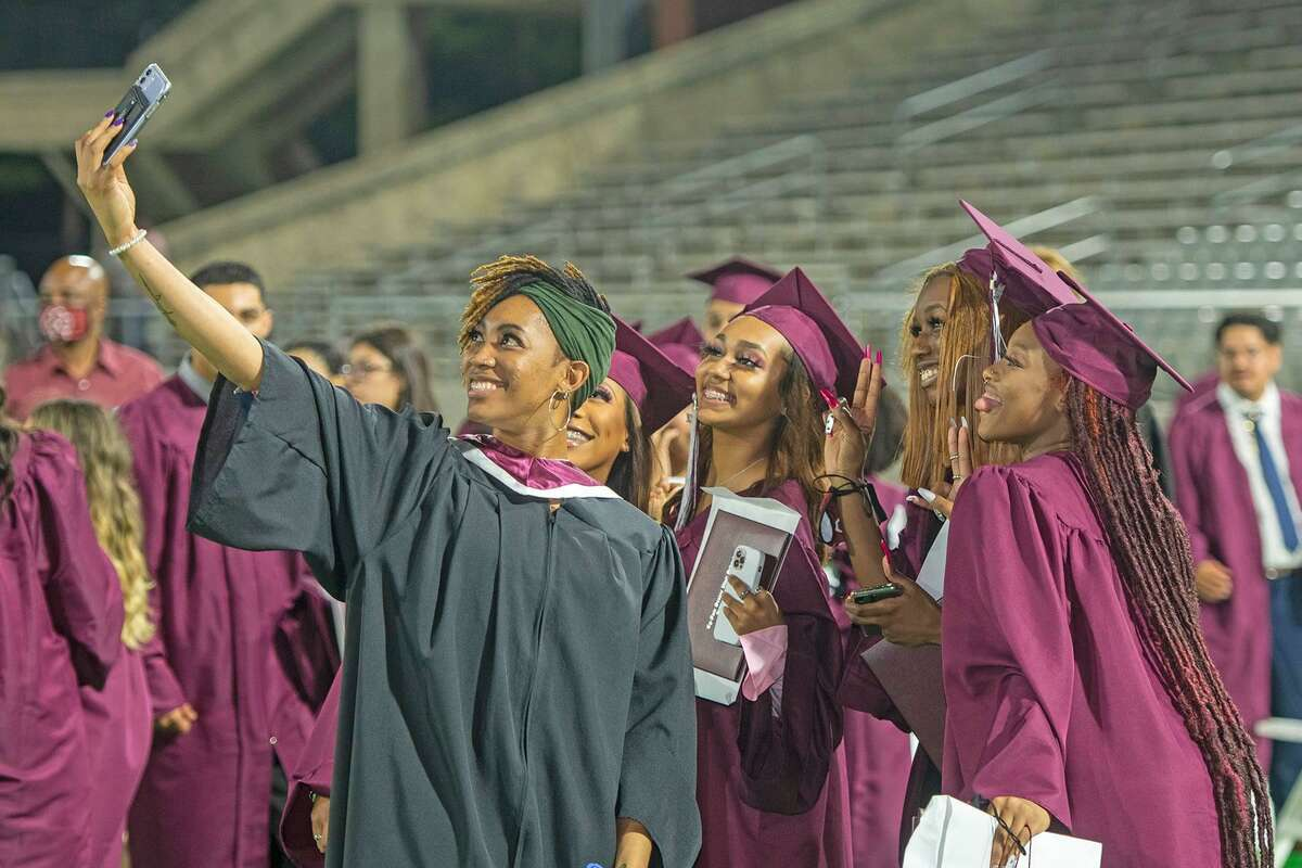 Cy-Fair High School Class of 2021 students were celebrated during their graduation ceremony at Cy-Fair FCU Stadium on Thursday, May 27.